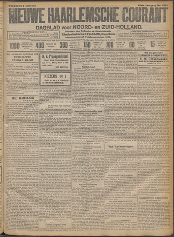 Nieuwe Haarlemsche Courant 1915-06-09