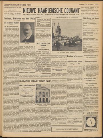 Nieuwe Haarlemsche Courant 1932-07-26