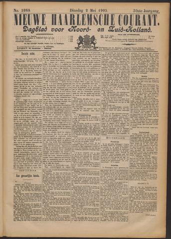 Nieuwe Haarlemsche Courant 1905-05-02