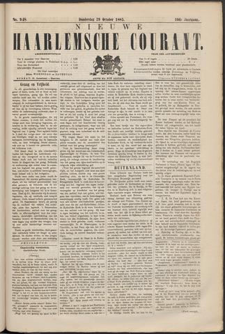 Nieuwe Haarlemsche Courant 1885-10-29