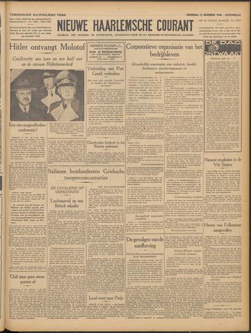 Nieuwe Haarlemsche Courant 1940-11-13