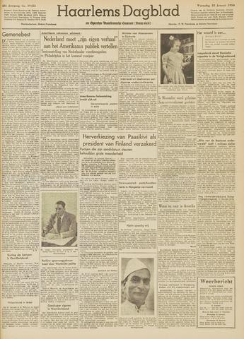 Haarlem's Dagblad 1950-01-18