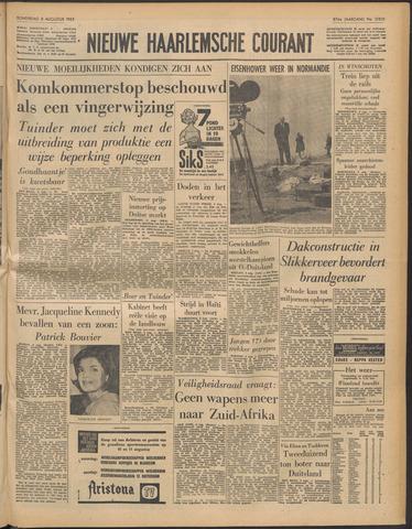 Nieuwe Haarlemsche Courant 1963-08-08