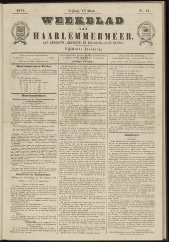 Weekblad van Haarlemmermeer 1874-03-13