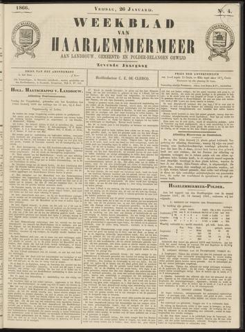 Weekblad van Haarlemmermeer 1866-01-26