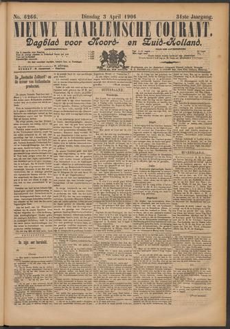 Nieuwe Haarlemsche Courant 1906-04-03