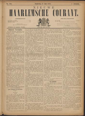 Nieuwe Haarlemsche Courant 1878-06-27