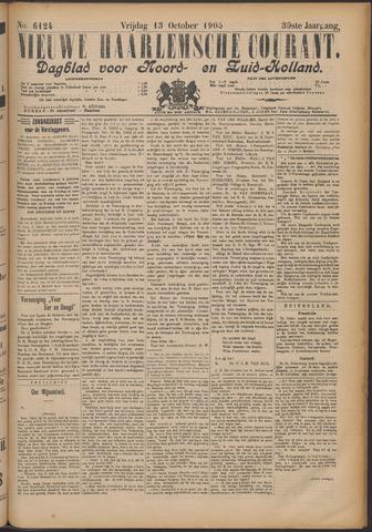Nieuwe Haarlemsche Courant 1905-10-13