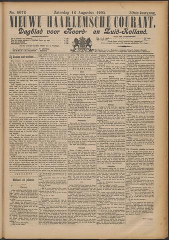 Nieuwe Haarlemsche Courant 1905-08-12
