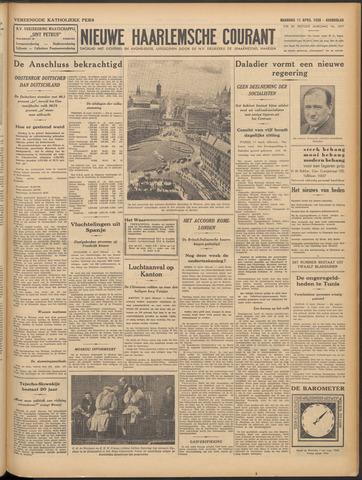 Nieuwe Haarlemsche Courant 1938-04-11
