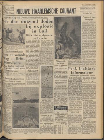 Nieuwe Haarlemsche Courant 1956-08-08