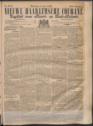 Nieuwe Haarlemsche Courant 1900-06-18