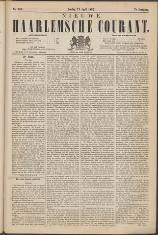 Nieuwe Haarlemsche Courant 1882-04-23