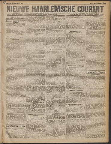 Nieuwe Haarlemsche Courant 1919-11-25