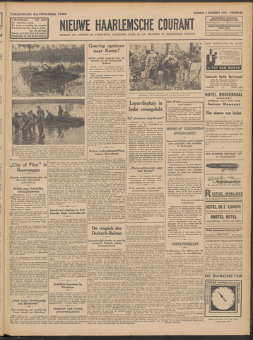 Nieuwe Haarlemsche Courant 1939-11-04