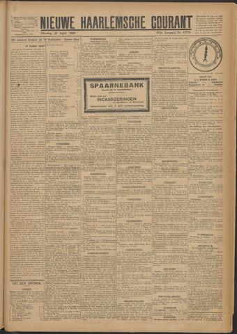 Nieuwe Haarlemsche Courant 1924-04-22