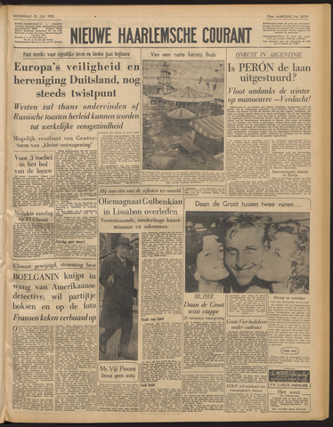 Nieuwe Haarlemsche Courant 1955-07-21