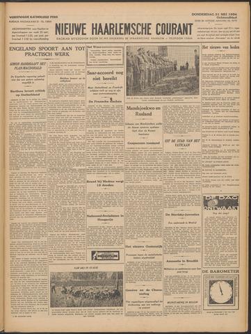 Nieuwe Haarlemsche Courant 1934-05-31