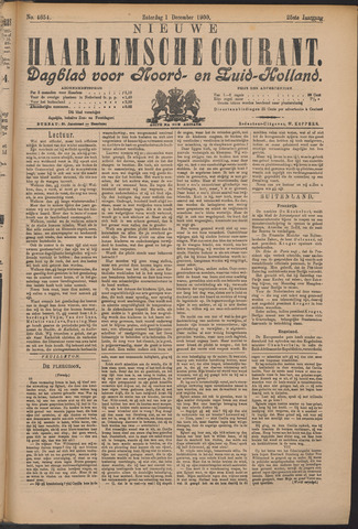 Nieuwe Haarlemsche Courant 1900-12-01