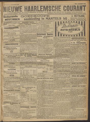 Nieuwe Haarlemsche Courant 1918-11-02