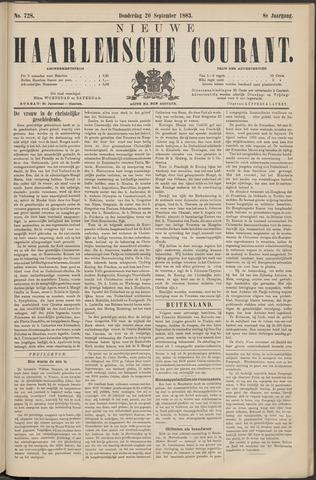 Nieuwe Haarlemsche Courant 1883-09-20