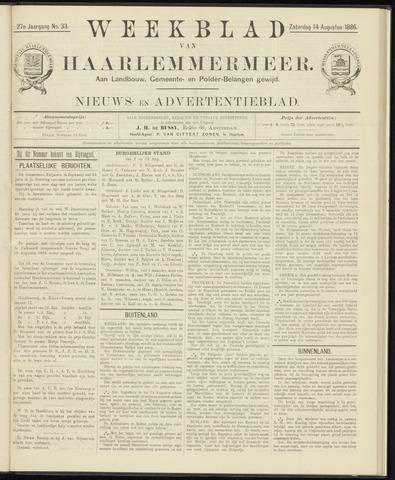 Weekblad van Haarlemmermeer 1886-08-14