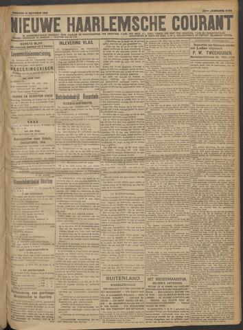 Nieuwe Haarlemsche Courant 1918-10-15