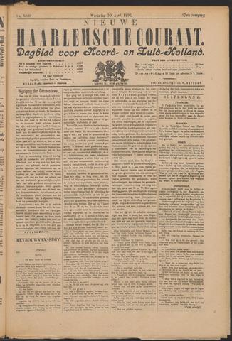 Nieuwe Haarlemsche Courant 1902-04-30