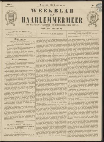 Weekblad van Haarlemmermeer 1867-01-25