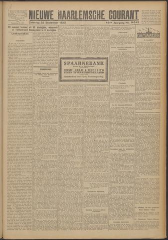 Nieuwe Haarlemsche Courant 1923-09-22