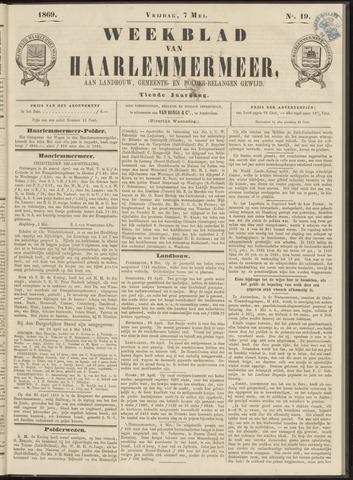 Weekblad van Haarlemmermeer 1869-05-07