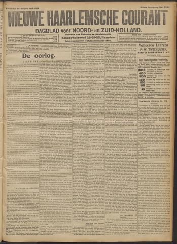 Nieuwe Haarlemsche Courant 1914-08-28