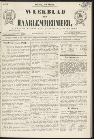 Weekblad van Haarlemmermeer 1861-03-29