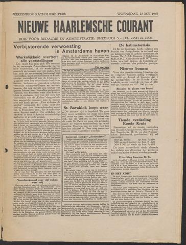 Nieuwe Haarlemsche Courant 1945-05-23