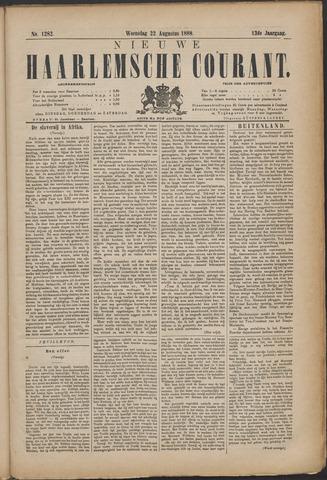 Nieuwe Haarlemsche Courant 1888-08-22