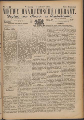 Nieuwe Haarlemsche Courant 1905-10-11