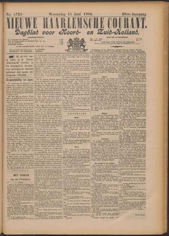 Nieuwe Haarlemsche Courant 1904-06-15