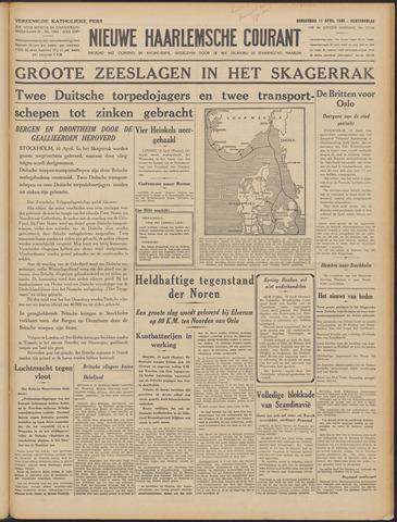 Nieuwe Haarlemsche Courant 1940-04-11