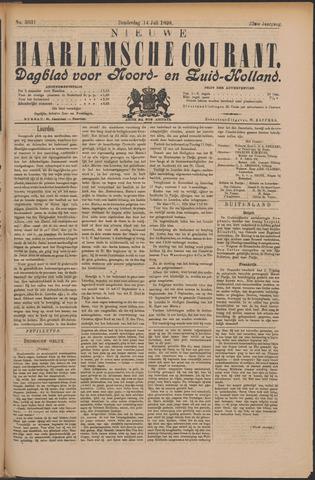 Nieuwe Haarlemsche Courant 1898-07-14