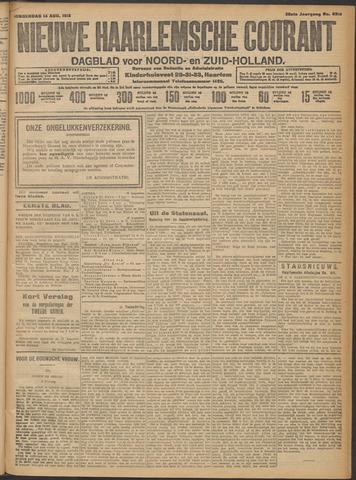 Nieuwe Haarlemsche Courant 1913-08-14