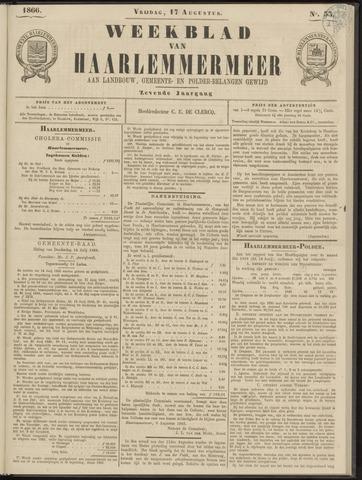 Weekblad van Haarlemmermeer 1866-08-17