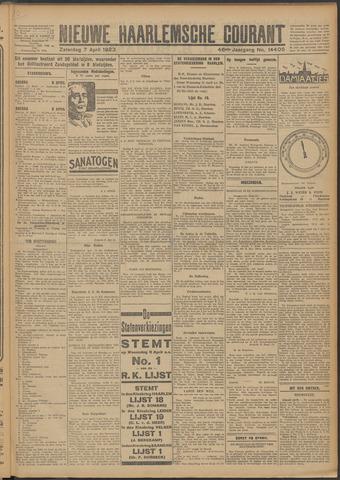 Nieuwe Haarlemsche Courant 1923-04-07