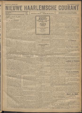 Nieuwe Haarlemsche Courant 1921-01-08