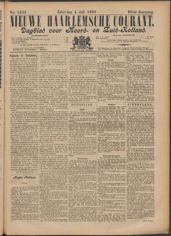 Nieuwe Haarlemsche Courant 1903-07-04