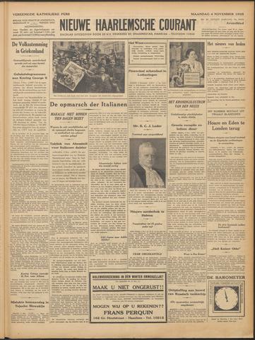 Nieuwe Haarlemsche Courant 1935-11-04