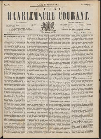 Nieuwe Haarlemsche Courant 1877-12-16