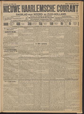 Nieuwe Haarlemsche Courant 1911-02-28