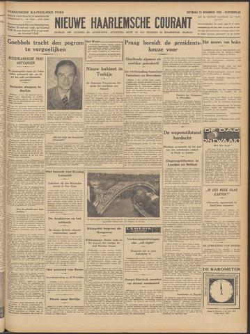 Nieuwe Haarlemsche Courant 1938-11-12