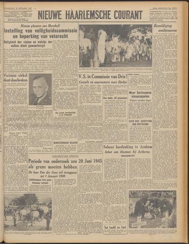 Nieuwe Haarlemsche Courant 1947-09-18