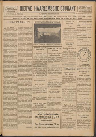 Nieuwe Haarlemsche Courant 1932-02-27
